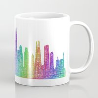 chicago Mugs featuring Chicago by David Zydd