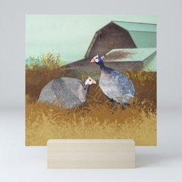 Jenn's Hens Mini Art Print
