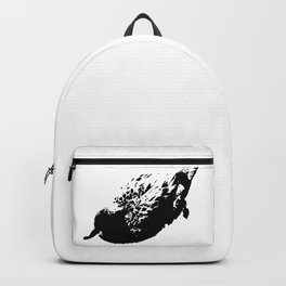 Black and white duck Backpack