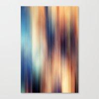 blur Canvas Prints featuring Blur by ALT + CO