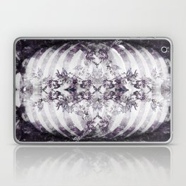 Floral Abstract Ribcage Laptop & iPad Skin