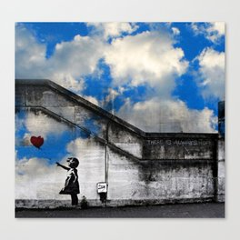A Balloon to the Wind Canvas Print