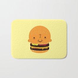 Cheeseburgerhead Bath Mat