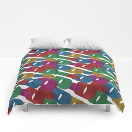 3D X Pipes Comforters