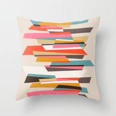 Fragments VII Throw Pillow