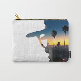 LA Portrait Carry-All Pouch