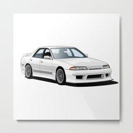 Japanese Car Metal Print