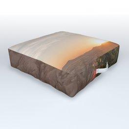 Sunset Over Rose Valley, Cappadocia Outdoor Floor Cushion