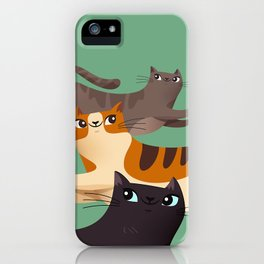 Jumping Cats 2.0 iPhone Case