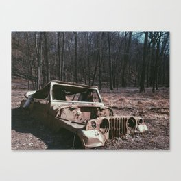 Its a Jeep thing...  Canvas Print
