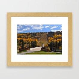 Vail, CO Framed Art Print
