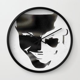 Gotham Noir: Jerome (Inverted) Wall Clock