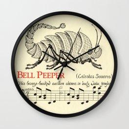 Bell Peeper   Celestus Sonorus Wall Clock