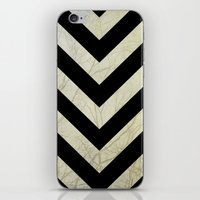 decal iPhone & iPod Skins featuring Bold by Charlene McCoy