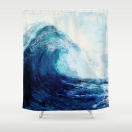 Waves II Shower Curtain