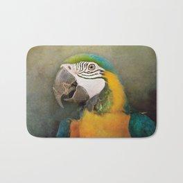 Portrait of a Parrot Bath Mat