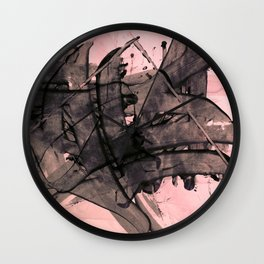 Polished Punk Wall Clock