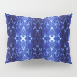 Ikat Shibori Blues Pillow Sham