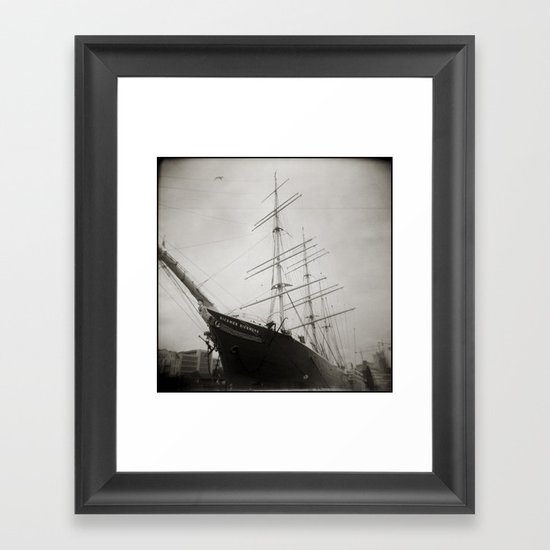 { equilibrium } Framed Art Print