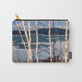 Tom Thomson - Spring in Algonquin Park - Canada, Canadian Oil Painting - Group of Seven Carry-All Pouch