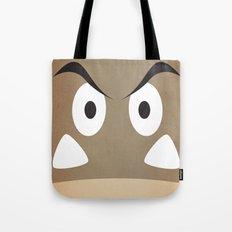 minimal shroom Tote Bag