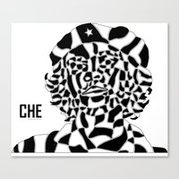 che Canvas Prints featuring Che by Blake Thornley