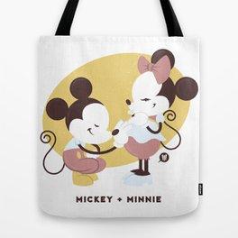 Disney Dads: Mickey + Minnie Tote Bag