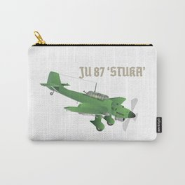 Junkers Ju 87 Stuka Bomber Airplane Carry-All Pouch