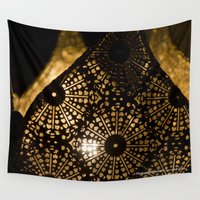 antique Wall Tapestries featuring Antique lamp by Isabelle Savard-Filteau