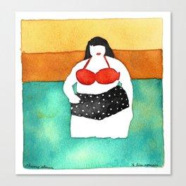 Cherry Stems Canvas Print