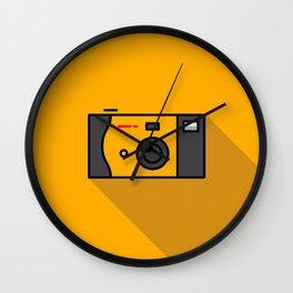 Disposable Camera Wall Clock