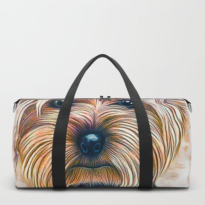 Yorkshire Terrier Duffle Bag