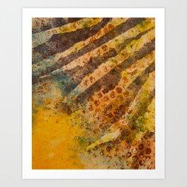 Zebra Spots Art Print