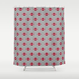Alabama football university of alabama crimson tide college football gifts Shower Curtain