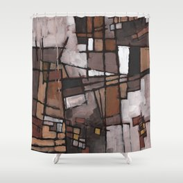 Lapse of Judgment Shower Curtain