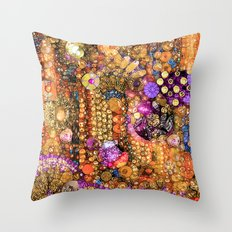 Maroccan Magic Throw Pillow