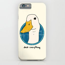duck everything iPhone Case