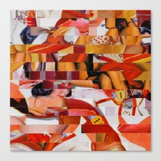 Spooning de Kooning (Provenance Series) Canvas Print