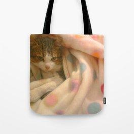 Kitty photo Tote Bag