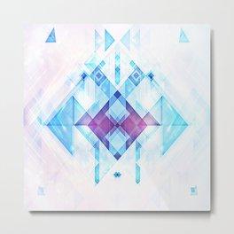 Blue Gem Metal Print