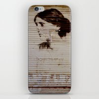 virginia iPhone & iPod Skins featuring Virginia Woolf by sustici