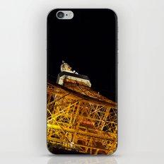 Tokyo tower iPhone & iPod Skin