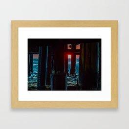 Deep Underneath  Framed Art Print