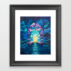 Chambers: To Know & Be Known Framed Art Print
