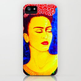 Frida Kahlo - portrait iPhone Case