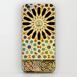 """""""Mexuar room"""". Details in The Alhambra Palace.  iPhone Skin"""