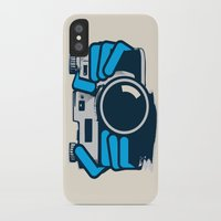 cheese iPhone & iPod Cases featuring Cheese by Sei Rey Ho
