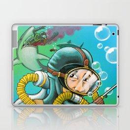 Shark Diving Disaster Laptop & iPad Skin