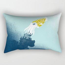 Intelligent Inker - Cranky Cuttlefish Rectangular Pillow