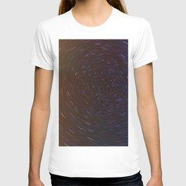 Stars trails T-shirt